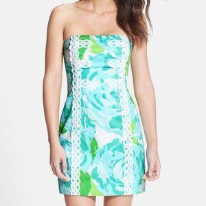 LILLY PULITZER Tansy Blue Dress 0